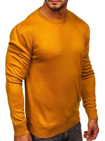 Sweter męski camelowy Denley GFC01