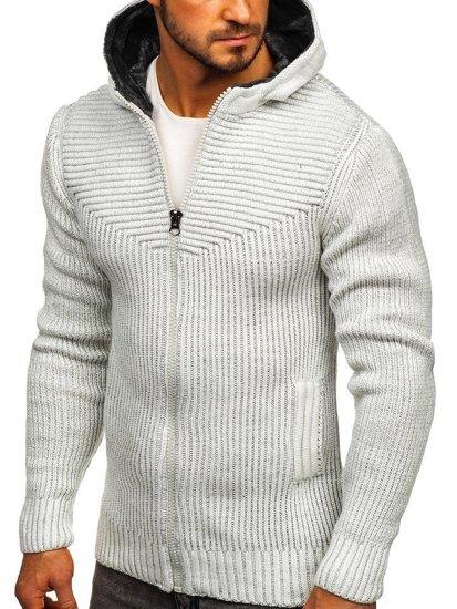 Sweter męski ecru Denley 20008