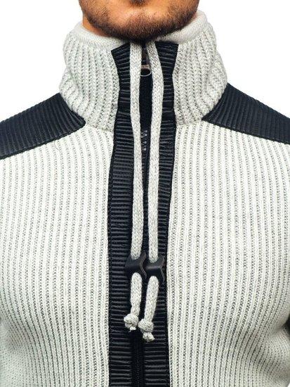 Sweter męski ecru Denley 20010A