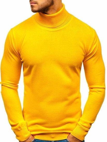 Sweter męski golf żółty Denley 2400