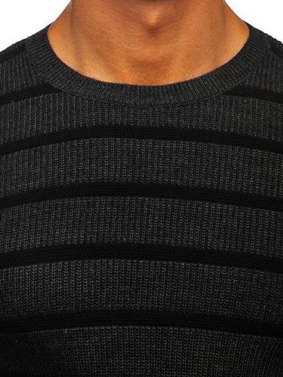 Sweter męski grafitowy Denley 4356