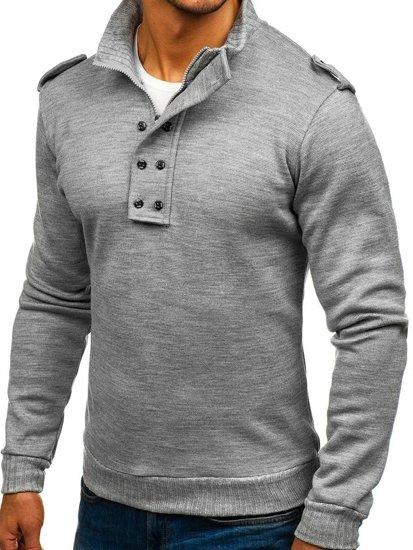Sweter męski szary Bolf 1132