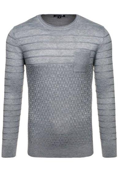 Sweter męski szary Denley 2028