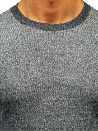 Sweter męski szary Denley BM6124