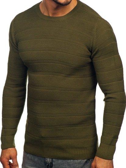 Sweter męski zielony Denley 4357