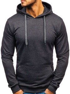 Bluza męska z kapturem antracytowa Bolf 5361