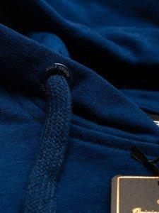 Bluza męska z kapturem granatowa Bolf 5361