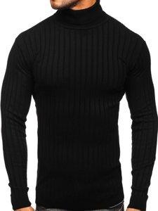 Czarny sweter męski golf Denley 520