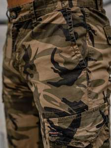 Khaki szorty krótkie spodenki męskie bojówki moro Denley 6137