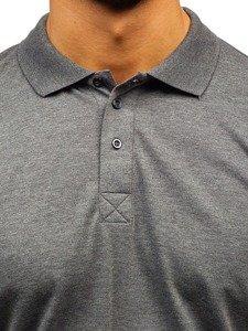 Koszulka polo męska antracytowa Bolf 171221