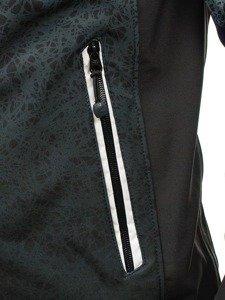 Kurtka męska softshell czarna Denley 0013