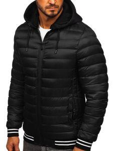 Kurtka męska zimowa czarna Denley 5331