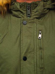 Kurtka męska zimowa zielona Denley 1778