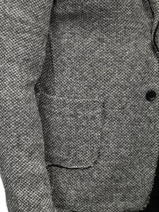 Marynarka męska szara Denley 6647