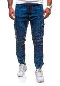 Bluza męska z kapturem z nadrukiem grafitowa Bolf 01S