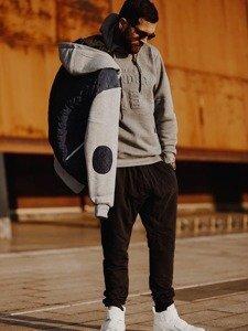 Stylizacja nr 126 - kurtka przejściowa, bluza z kapturem, spodnie dresowe, buty sneakersy