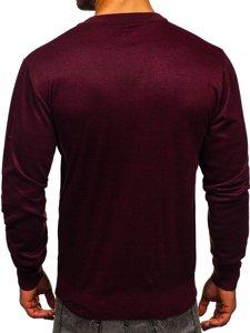 Sweter męski bordowy Denley GFC01