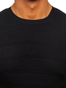 Sweter męski czarny Denley 4357