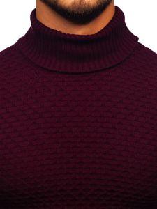 Sweter męski golf bordowy Denley 322