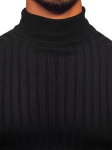 Sweter męski golf czarny Denley 2002