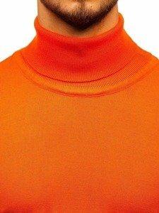 Sweter męski golf pomarańczowy Denley 2400