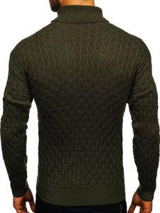 Sweter męski golf zielony Denley 501