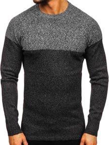 Sweter męski grafitowy Denley H1809