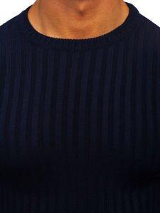Sweter męski granatowy Denley 4502