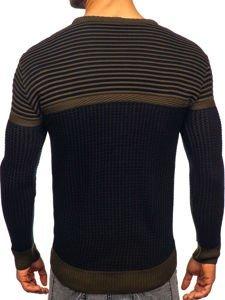Sweter męski khaki Denley 1013
