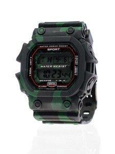 Zegarek męski na rękę moro czarno-zielony Denley 8332